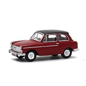 Austin A40 Vermelho 1/76 Oxford Automobile Company