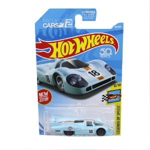 Porsche 917 LH Gulf 1/64 Hot Wheels 50 Anos Project Cars 2 Legends of Speed