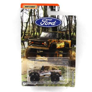 Ford Bronco 4x4 1972 Skyjacker Suspensions 1/64 Matchbox