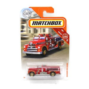 Seagrave Fire Engine Bombeiros 1/64 Matchbox MBX Rescue