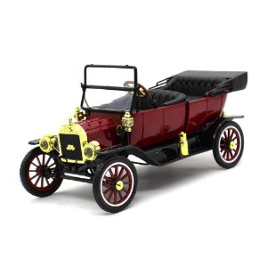 Ford USA Model T Capota Removível 1915 Vermelho 1/18 Motor City Classics Classic Collectibles