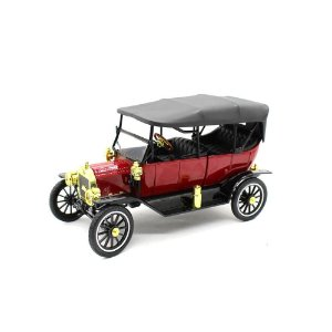 Ford USA Model T Capota Fixa 1915 Vermelho 1/18 Motor City Classics Classic Collectibles