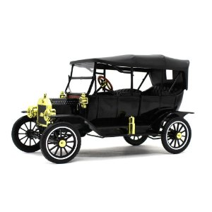 Ford USA Model T Capota Fixa 1915 Preto 1/18 Motor City Classics Classic Collectibles