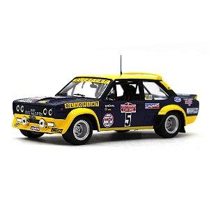 Fiat Abarth 131 N 5 Rally Sanremo 1977 Walter Röhrl e Willi-Peter Pitz 1/43 Ixo