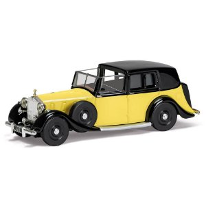 Rolls Royce Phantom III De Ville 1939 007 James Bond Goldfinger 1/36 Corgi
