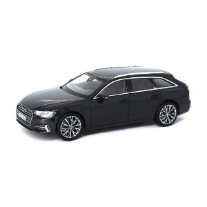 Audi A6 Avant C8 2018 Cinza Escuro 1/43 IScale Audi Collection