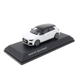 Audi A1 Sportback 2018 Branco 1/43 IScale Audi Collection
