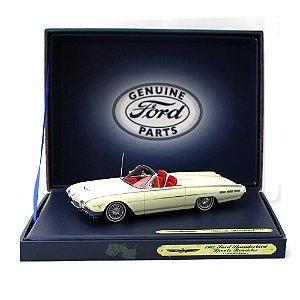 Ford Thunderbird Sport Roadster 1962 Branco Lotus 1/43 Motorhead