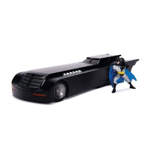 Batman Batmovel Série Animada 1/24 Jada Toys Metals Die Cast