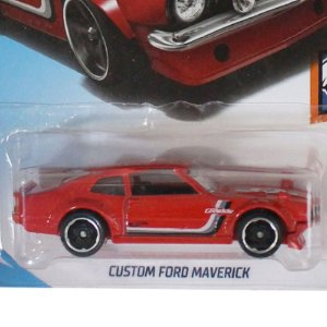 Custom Ford Maverick 1/64 Hot Wheels Muscle Mania