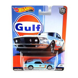 Ford Mustang Boss 302 1969 Gulf 1/64 Hot Wheels Car Culture Premium