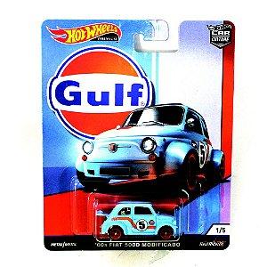 Fiat 500D Modificado 60s Gulf 1/64 Hot Wheels Premium Car Culture
