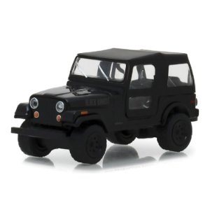 Jeep CJ 7 1976 Black Bandit Serie 20 1/64 Greenlight