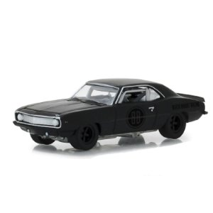 Chevrolet Camaro Z28 1969 Black Bandit Serie 20 1/64 Greenlight