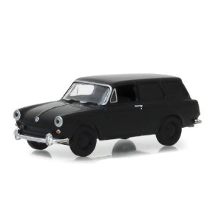 Volkswagen Type 3 Squareback Panel Van 1965 Black Bandit Serie 20 1/64 Greenlight