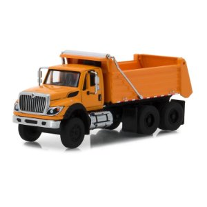 Caminhão Caçamba International 2018 WorkStar SD Trucks Serie 5 1/64 Greenlight