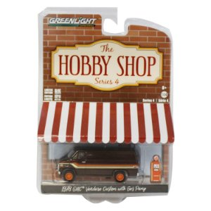GMC Vandura Custom 1978 e Bomba de Combustível The Hobby Shop Series 4 1/64 Greenlight