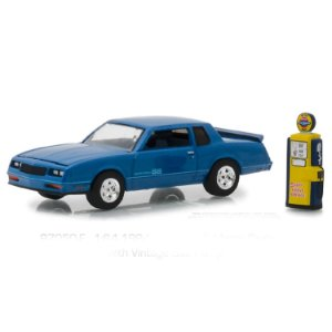 Chevrolet Monte Carlo SS 1984 e Bomba de Combustivel Vintage The Hobby Shop Series 5 1/64 Greenlight