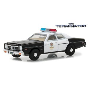 Dodge Monaco 1977 The Terminator O Exterminador do Futuro 1/64 Greenlight Hollywood Serie 19