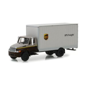 Caminhão Bau International DuraStar UPS HD Trucks Serie 15 1/64 Greenlight
