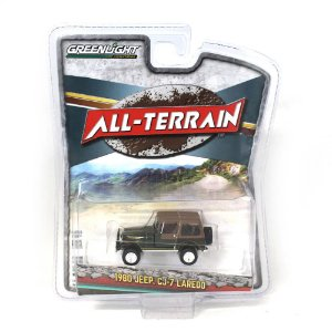 Jeep CJ7 Laredo 1980 All Terrain Serie 7 1/64 Greenlight