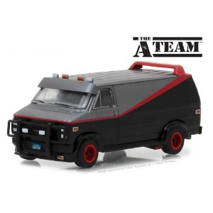 GMC Vandura B.A.´S 1983 A-Team Esquadrão Classe A 1/64 Greenlight Hollywood Serie 19