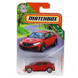 Honda Civic Hatchback 2017 1/64 Matchbox MBX Road Trip