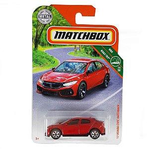 Honda Civic Hatchback 2017 1/64 Matchbox MBX Road Trip