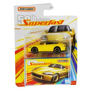 Honda S2000 2004 1/64 Matchbox Superfast 50th Anniversary