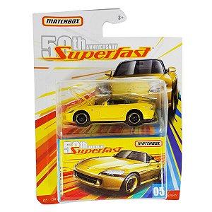Honda S2000 2004 1/64 Matchbox Superfast 50th Anniversary