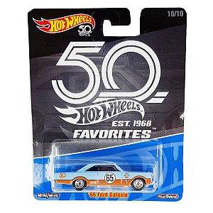 Ford Galaxie 1965 Gulf 1/64 Hot Wheels 50 Anos Favorites