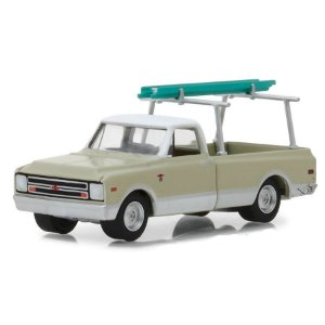 Chevrolet C10 1970 Blue Collar Serie 4 1/64 Greenlight