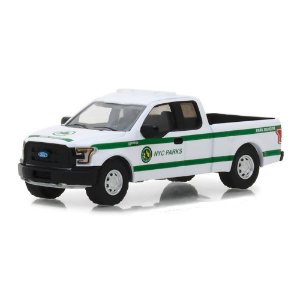 Ford F150 2016 NYC Parks Blue Collar Serie 4 1/64 Greenlight