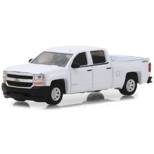 Chevrolet Silverado 1500 2018 Blue Collar Serie 4 1/64 Greenlight