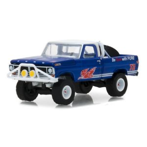 Ford F100 1972 Blue Collar Serie 4 1/64 Greenlight