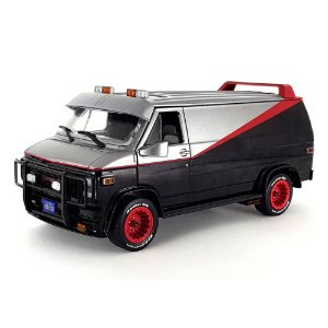 GMC Vandura 1983 A-Team Esquadrão Classe A 1/24 Greenlight Hollywood