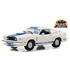 Ford Mustang II Cobra II 1976 Jill Munroe´s Charlie´s Angels As Panteras 1/43 Greenlight Hollywood