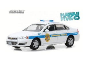 Chevrolet Impala Policia Cruiser 2010 Hawaii Five-0 1/43 Greenlight Hollywood