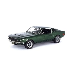Ford Mustang GT 1968 Steve McQueen Bullitt 1/43 Greenlight Hollywood