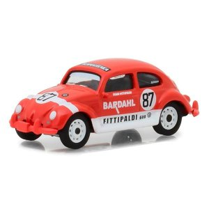 Volkswagen Fusca 1600 1967 N 87 Bardahl Racing Fittipaldi 1/64 Greenlight