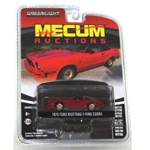 Ford Mustang II King Cobra 1978 Mecum Auctions 1/64 Greenlight