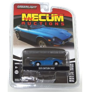 Datsun 240Z 1970 Mecum Auctions 1/64 Greenlight