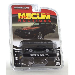 Pontiac Firebird T/A 1979 Mecum Auctions 1/64 Greenlight