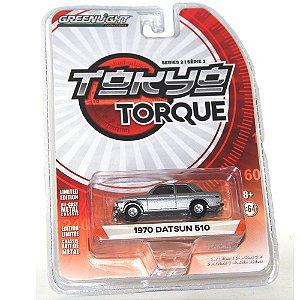 Datsun 510 1970 Tokyo Torque 1/64 Greenlight