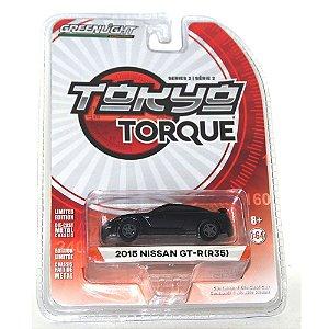 Nissan GT-R (R35) 2015 Tokyo Torque 1/64 Greenlight