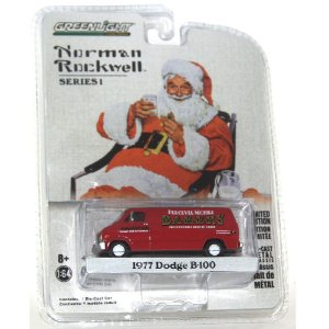 Dodge B-100 1977 Norman Rockwell 1/64 Greenlight