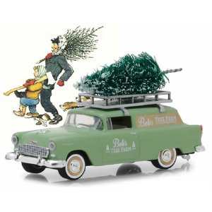 Chevrolet Sedan Delivery 1955 Norman Rockwell 1/64 Greenlight