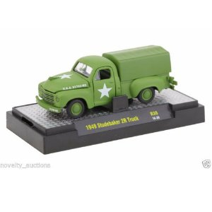 Studebaker 2R Truck 1949 Auto-thentics 1/64 M2 Machines Release 38