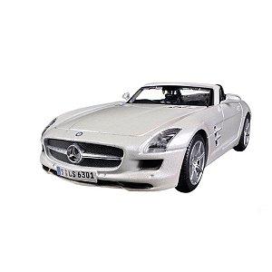 Mercedes-Benz Sls Amg Roadster PRATA 1/24 Maisto