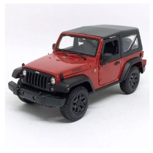 2014 JEEP WILLYS WRANGLER 1/18 MAISTO